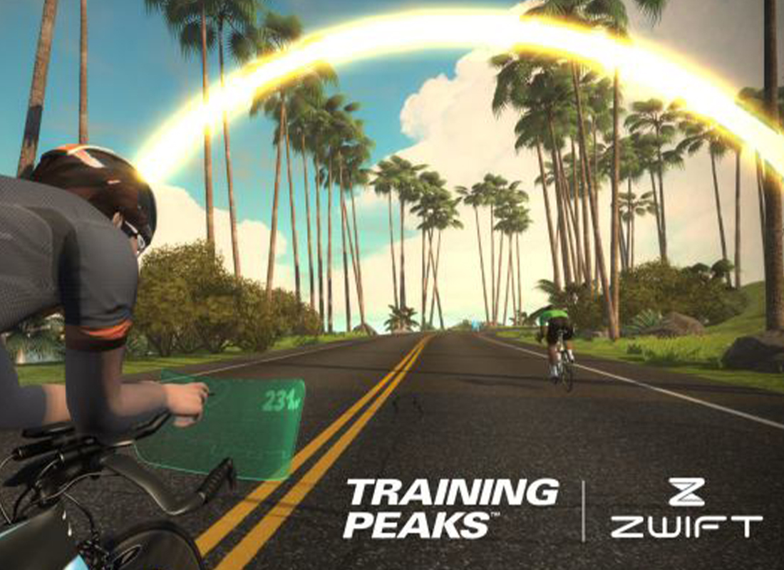 Using Zwift and Training Peaks together, your perfect training partner