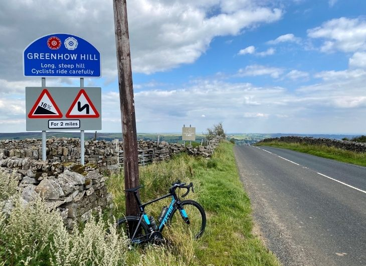 How to cycle train on the bike for a hilly event WITHOUT hills